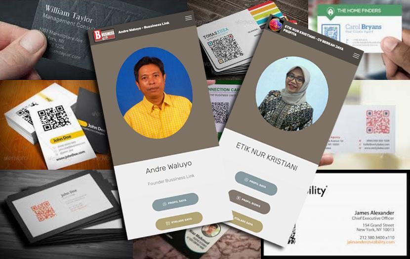 kartu nama online digital namecard bisniscard business card